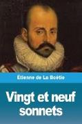 Cover-Bild zu de La Boétie, Étienne: Vingt et neuf sonnets