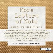 Cover-Bild zu More Letters of Note (Audio Download) von Usher, Shaun