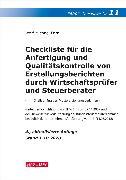 Cover-Bild zu Farr, Wolf-Michael: Checkliste 11 (Erstellungsberichte)