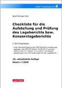Cover-Bild zu Farr, Wolf-Michael: Checkliste 4 für die Aufstellung und Prüfung des Lageberichts bzw. Konzernlageberichts