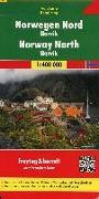 Cover-Bild zu Freytag-Berndt und Artaria KG (Hrsg.): Norwegen Nord - Narvik, Autokarte 1:400.000. 1:400'000