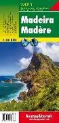 Cover-Bild zu Freytag-Berndt und Artaria KG (Hrsg.): Madeira, Wanderkarte 1:30.000. 1:30'000