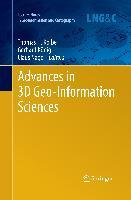Cover-Bild zu Kolbe, Thomas H. (Hrsg.): Advances in 3D Geo-Information Sciences