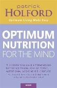Cover-Bild zu Holford, Patrick: Optimum Nutrition for the Mind