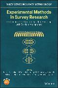 Cover-Bild zu Lavrakas, Paul J. (Hrsg.): Experimental Methods in Survey Research (eBook)