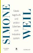 Cover-Bild zu Weil, Simone: Fabriktagebuch