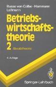 Cover-Bild zu Busse von Colbe, Walter: Betriebswirtschaftstheorie