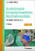 Cover-Bild zu Anästhesie - Intensivmedizin - Notfallmedizin von Striebel, Hans Walter