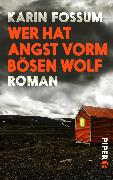 Cover-Bild zu Wer hat Angst vorm bösen Wolf von Fossum, Karin