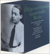 Cover-Bild zu Horváth, Ödön von: Gesammelte Werke. Kommentierte Werkausgabe in Einzelbänden
