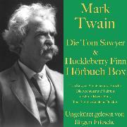 Cover-Bild zu Mark Twain: Die Tom Sawyer & Huckleberry Finn Hörbuch Box (Audio Download) von Twain, Mark