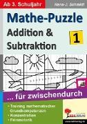 Cover-Bild zu Mathe-Puzzle ... für zwischendurch / Band 1 (eBook) von Schmidt, Hans-J.