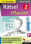 Cover-Bild zu Rätsel Naturwissenschaften / Band 2: Pflanzen (eBook) von Schmidt, Andrea