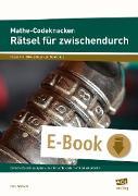 Cover-Bild zu Mathe-Codeknacker: Rätsel für zwischendurch 7/8 (eBook) von Wiswede, Marc