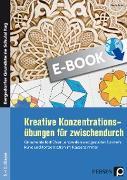Cover-Bild zu Kreative Konzentrationsübungen für zwischendurch (eBook) von Brize, Nadja