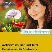 Cover-Bild zu Achtsam im Hier und Jetzt (Audio Download) von Hoffmann, Ursula
