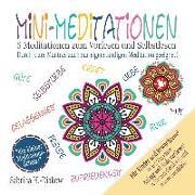 Cover-Bild zu Mini-Meditationen - Meditationen für zwischendurch und zum Einschlafen (eBook) von Heuer-Diakow, Sabrina