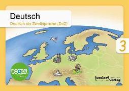 Cover-Bild zu Deutsch 3 (DaZ) BOOKii von Wachendorf, Anja