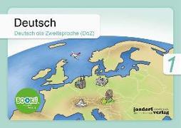 Cover-Bild zu Deutsch 1 (DaZ) BOOKii von Wachendorf, Anja