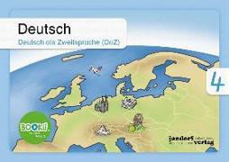 Cover-Bild zu Deutsch 4 (DaZ) BOOKii von Wachendorf, Anja