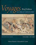 Cover-Bild zu Hansen, Valerie: Voyages in World History, Volume I, Brief