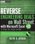 Cover-Bild zu Allman, Keith A.: Reverse Engineering Deals on Wall Street with Microsoft Excel