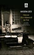 Cover-Bild zu Leo, Maxim: Histoire d'un Allemand de l'Est
