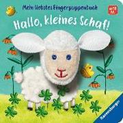 Cover-Bild zu Mein liebstes Fingerpuppenbuch: Hallo, kleines Schaf! von Penners, Bernd