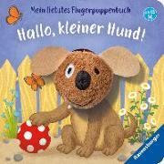 Cover-Bild zu Mein liebstes Fingerpuppenbuch: Hallo, kleiner Hund! von Penners, Bernd