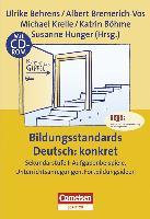 Cover-Bild zu Praxisbuch, Bildungsstandards Deutsch: konkret, Sekundarstufe I: Aufgabenbeispiele, Unterrichtsanregungen, Fortbildungsideen, Buch mit Kopiervorlagen und CD-ROM