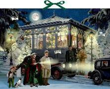 Cover-Bild zu Niessen, Susan: Zettelkalender - Weihnachten mit Agatha Christie