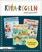 Cover-Bild zu Olten, Manuela (Illustr.): Kita-Regeln leicht gemacht. 5 Erklärposter für Kinder