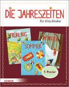 Cover-Bild zu Olten, Manuela (Illustr.): Die Jahreszeiten für Kita-Kinder