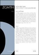 Cover-Bild zu Polth, Michael (Hrsg.): ZGMTH - Zeitschrift der Gesellschaft für Musiktheorie, 12. Jahrgang 2015