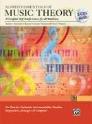 Cover-Bild zu Surmani, Andrew: Alfred's Essentials of Music Theory: Complete Self-Study Course, Book & 2 CDs [With 2cds]