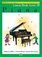 Cover-Bild zu Palmer, Willard: Alfred's Basic Piano Course Lesson Book, Bk 1b