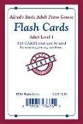 Cover-Bild zu Manus, Morton: Alfred's Basic Adult Piano Course Flash Cards: Level 1, Flash Cards