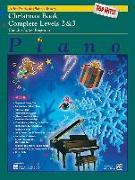 Cover-Bild zu Manus, Morton (Hrsg.): Alfred's Basic Piano Course Top Hits! Christmas: Complete 2 & 3