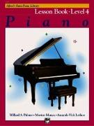 Cover-Bild zu Palmer, Willard: Alfred's Basic Piano Course Lesson Book, Bk 4