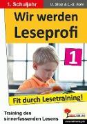 Cover-Bild zu Wir werden Leseprofi 1 (eBook) von Stolz, Ulrike