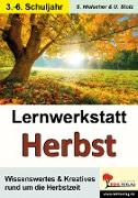 Cover-Bild zu Lernwerkstatt Den Herbst kennen lernen (eBook) von Hielscher, Sylvia