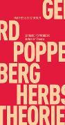 Cover-Bild zu Poppenberg, Gerhard: Herbst der Theorie