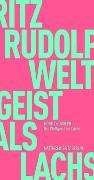 Cover-Bild zu Rudolph, Moritz: Der Weltgeist als Lachs