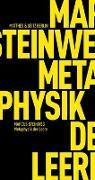 Cover-Bild zu Steinweg, Marcus: Metaphysik der Leere