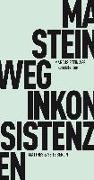 Cover-Bild zu Steinweg, Marcus: Inkonsistenzen