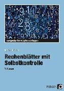 Cover-Bild zu Rechenblätter mit Selbstkontrolle - 7. Klasse von Müller, Heiner