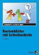 Cover-Bild zu Rechenblätter mit Selbstkontrolle - 1. Klasse von Müller, Heiner
