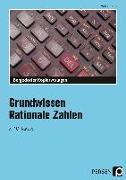 Cover-Bild zu Grundwissen Rationale Zahlen von Körner, Michael