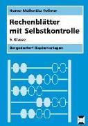 Cover-Bild zu Rechenblätter mit Selbstkontrolle - 5. Klasse von Müller, Heiner