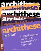 Cover-Bild zu archithese reader von Schaad, Gabrielle (Hrsg.)